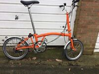 Good condition Brompton bike for sale £600