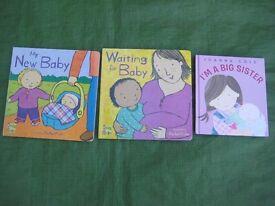 Three New Baby Hardback Books - 3 for £5.00