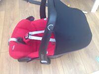 Maxi cosi pebble car seat £50