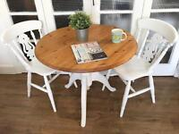 SOLID PINE TABLE AND CHAIRS FREE DELIVERY LDN 🇬🇧