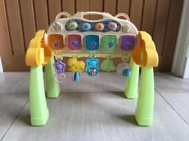 Baby gym light up & musical sounds