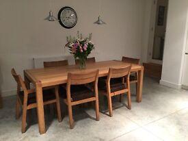 Habitat Radius Dining Table and 6 Chairs