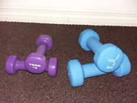 Hand Weights -£5 for 2 sets (2kg and 1kg)