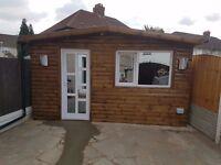 ***Short let*** New built Dagenham Studio annex sleeps up to 3