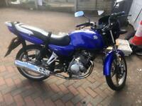 Lerner legal 125cc motorbike