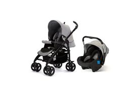 Silver cross 3D pram + car seat good condition as new