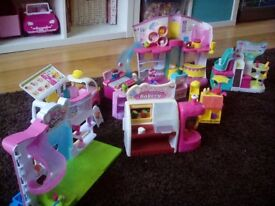 Shopkins and playsets