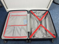 John Lewis Miami 65cm Suitcase 4 Wheel RRP £95 NEW WITH TAGS
