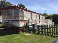 Caravan for rent in Hemsby near Great Yarmouth