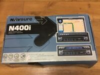 Navsure N400i navigation system cd radio with 7 inch screen