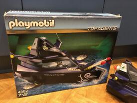 Playmobil 4882 Robo Gang Top Agents Boat