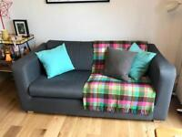 Habitat Porto Sofabed, Armchair and Footstool - excellent condition
