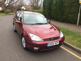 Ford Focus Ghia 2004, Turbo Diesel , 1 Year MOT