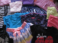 HUGE SUMMER WARDROBE BUNDLE OF GIRLS CLOTHES 7-8 - FABULOUS (with Next M&S George etc)