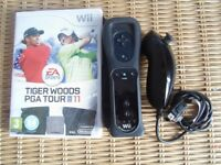 Nintendo Wii Game Tiger Woods PGA Tour 11 With Motion Plus Controller and Golf Club