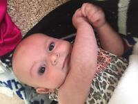 3 month old in need of occasional babysitter
