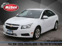 2014 Chevrolet Cruze LT Turbo - Rear View Cam, Colour Touch Scre