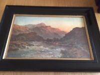 Highland scene paintings