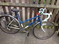 Small Dawes Ladies Road Bike - Blue & White - Used