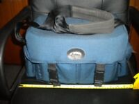 Blue Fotima Shoulder Camera Bag
