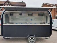 Mobile Catering Trailer Pizza Trailer Food Cart Burger Van Ice Cream Cart 3400x1650x2300