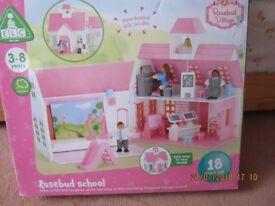 NEW E.L.C. Rosebud School Still sealed in Box 3-8 years