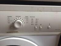 Washing machine less than 6 months old