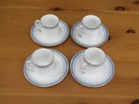 Mappin and Webb cups and saucers