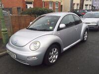 VW Beetle 2.0 3dr. *** 2003 registration, recent MOT, full service history ***