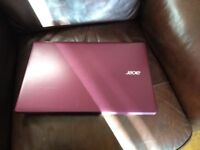 Purple Acer i5 Laptop PC with Office
