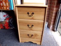 3 Drawer Chest Suit Bed/Office