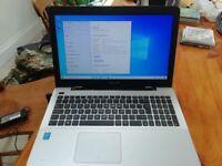 Asus x555L laptop. Core i5. Windows 10 Hdmi 8gb ram. 1tb hdd