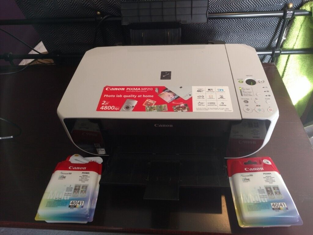 Canon MP210 Printer/Scanner WINDOWS 10 EXTRA INK and paper | in Sighthill,  Edinburgh | Gumtree