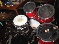 Premier APK drum kit with Zildjian/Sabian Pro cymbals