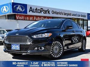 2015 Ford Fusion Titanium|ONLY 11, 500KM|AWD|NAVIGATION