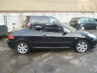 Peugeot 307 cc S,1997 cc hard top Convertible,FSH,runs and drives very well,low mileage,42,000