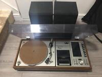 Vintage sharp record player