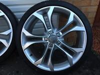 Audi S4 Style alloy wheels/tyres
