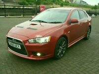 MITSUBISHI LANCER RALLIART GSR SST 2.0 TURBO 4X4,2 LADY OWNERS,63K AND FMDSH,LOVELY VERY RARE CAR.