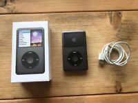 iPod Classic, 6th Generation, 160GB, Black.