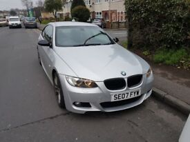 BMW 325i M-Sport e92 Silver - Very Low Mileage