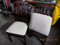 Folding Kitchen Chairs x 2