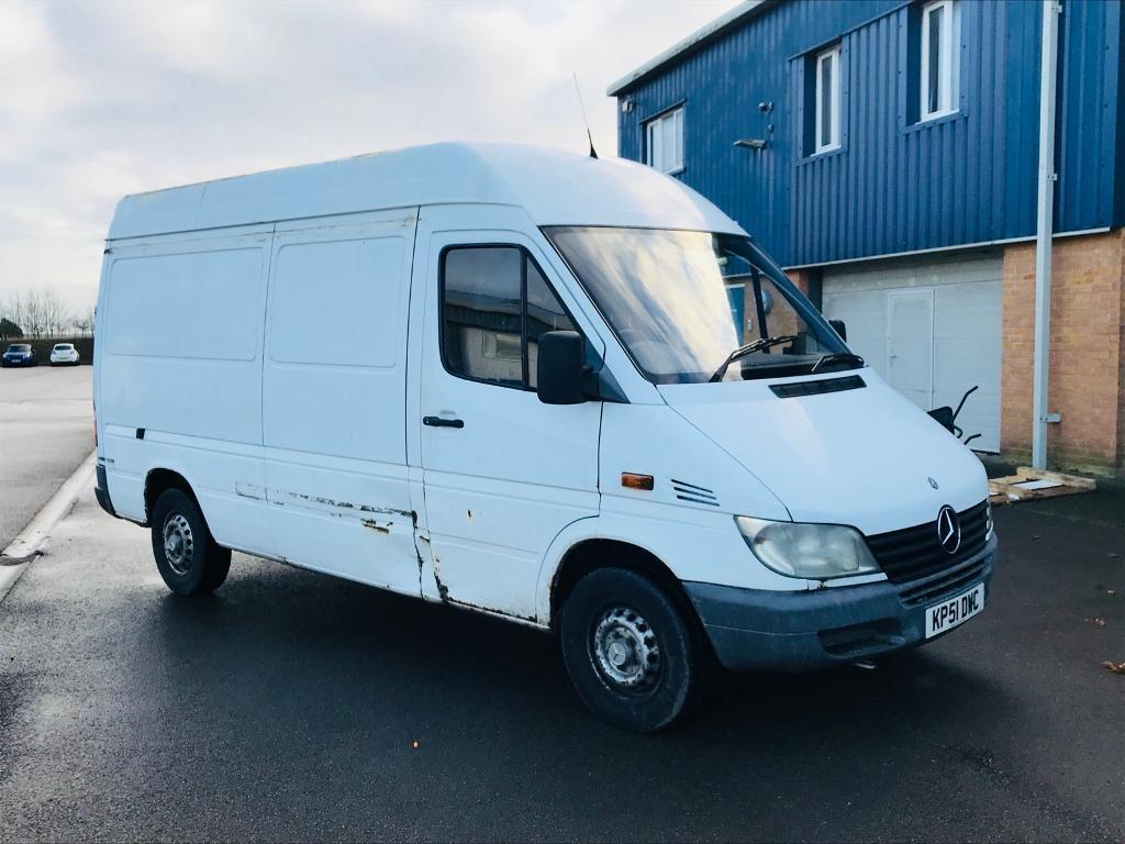 MERCEDES-BENZ SPRINTER 311 CDI 2002(51)REG**COMPANY OWNED**