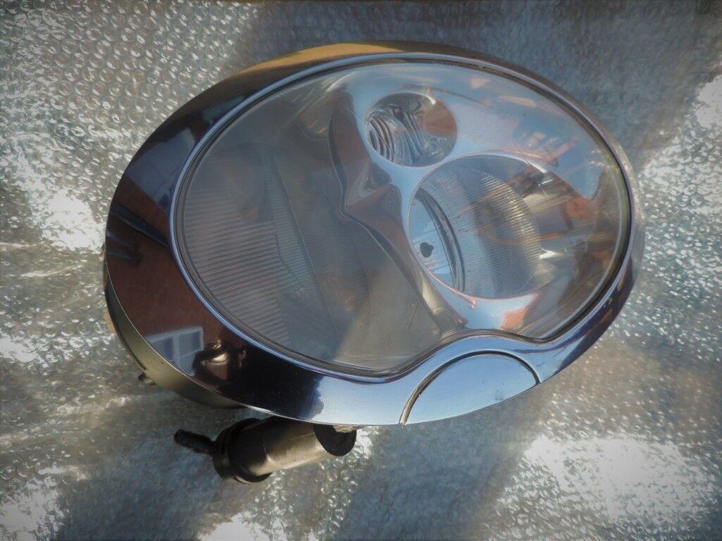 A Pair Mini Cooper S R53 Complete Xenon Headlights