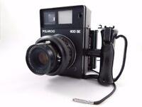 Polaroid 600 SE w/ Kamiya 127mm F4.7 Lens