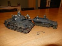 Small Joblot of completed Military Models - Tamiya models