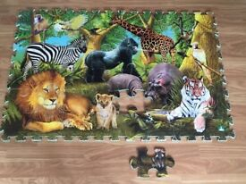 selection of jig saw puzzles