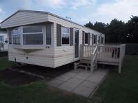 *MARCH £25 P/N*VERIFIED OWNER* CLOSE TO FANTASY ISLAND 6 BERTH CARAVAN LET/RENT/HIRE in INGOLDMELLS