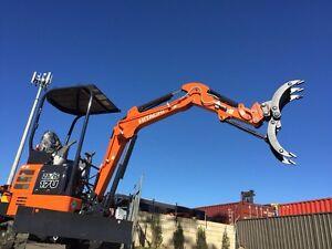 Mini excavator  operator and truck hire 10.4gvm Sydney Region Preview