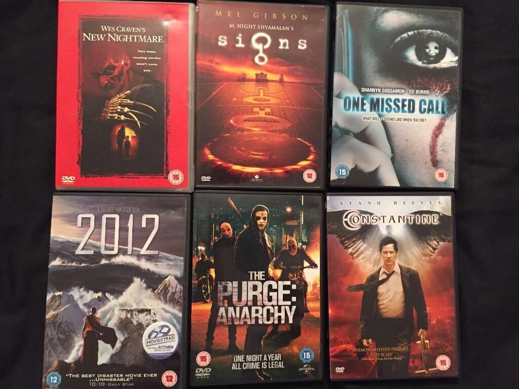 Collection of 35 DVDs suitable for Halloween or any horror night - £50 - North Walsham